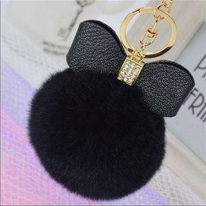 Accessories - Pom Pom bag charm keychain